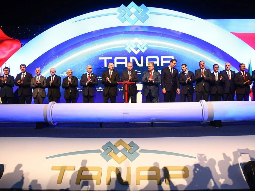 The Inauguration Ceremony of TANAP: The SilkRoad of the Energy