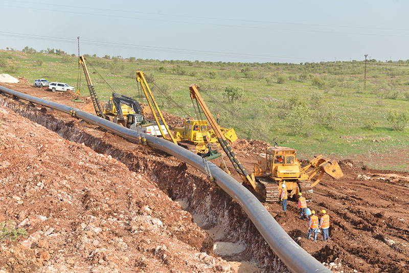 Turk Stream Natural Gas Pipeline Project Onshore Section-1